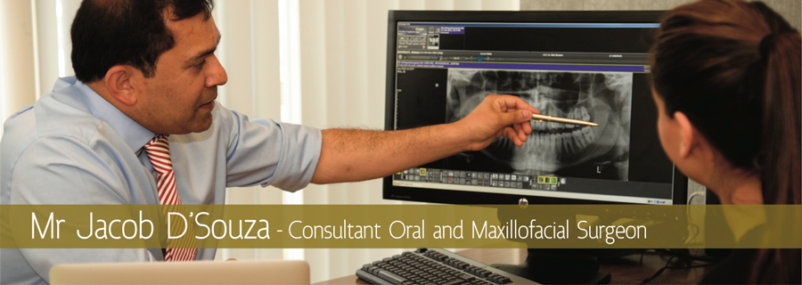 Jacob D'Souza - consultant oral and maxillofacial surgeon